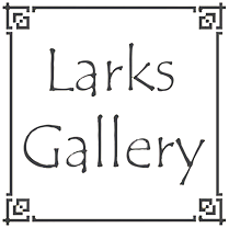 Larks Gallery Art Gallery Ballater Aberdeenshire Ceramics Glass Work Jewellery Metal Work Paintings Photography Print Making Scuplture Textiles Wood Work Footer Logo